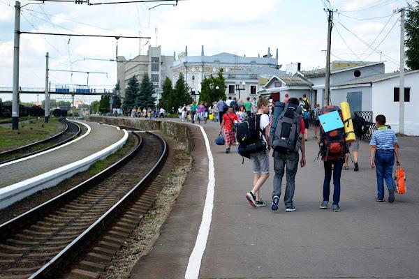 вокзал перрон ровно
