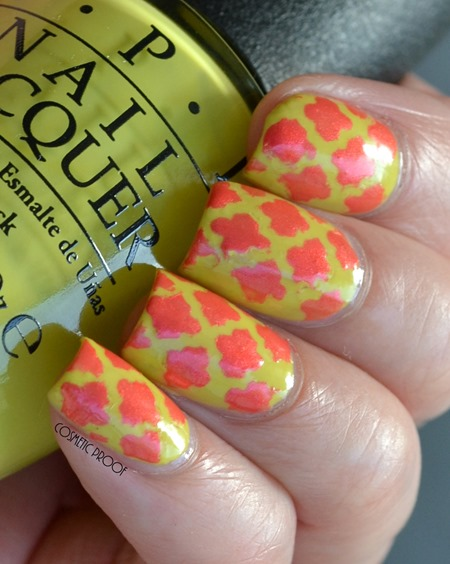 OPI Brights Life Game Me Lemons and Down to the Core-al Review (2)