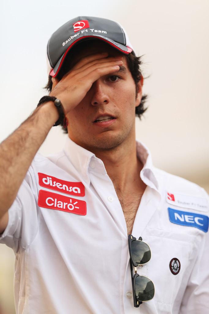 Серхио Перес фэйспалмит на Гран-при Японии 2012