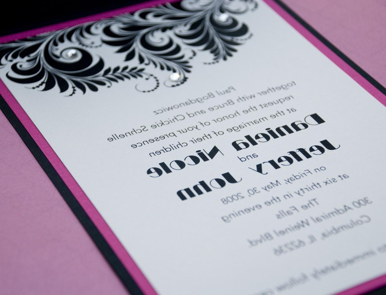 gatefold wedding invites