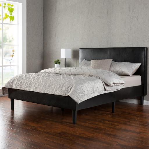 Upholstered Platform Bed Queen