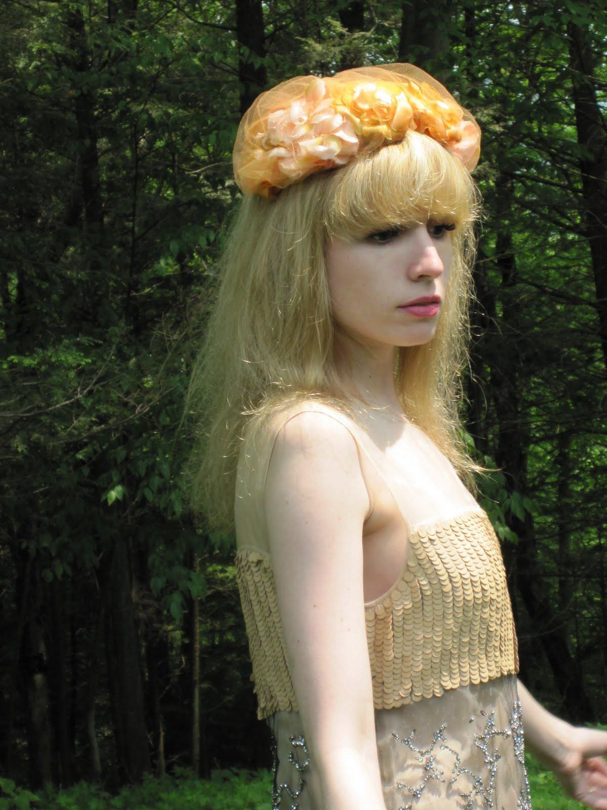 Vintage headpiece.