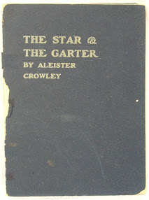 Cover of Aleister Crowley's Book The Star And The Garter