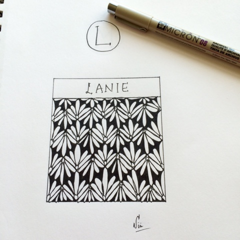 zentangle lanie