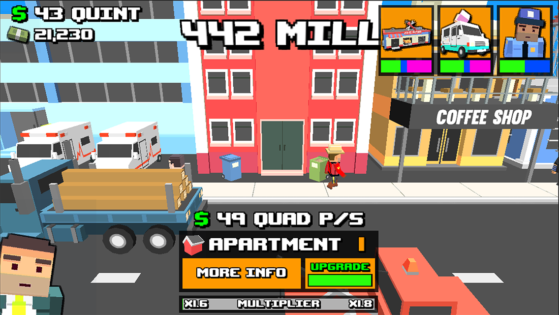 Clicker Town: Free Idle Tapper Screenshot 0