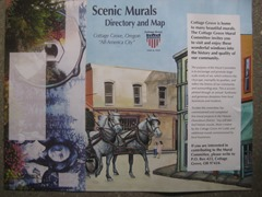 Cottage Grove, OR Murals (1)