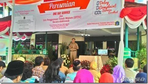 788 CPNS 2015 DKI  Jakarta Akan Ditempatkan di PTSP