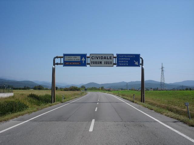 w strone granic z Słowenią