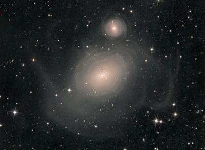 NGC 1316 e NGC 1317