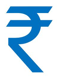 भारतीय रुपये का चिह्न symbol indian rupee