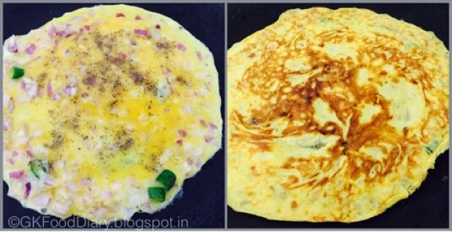 Egg Omelette Recipe | How to make Egg Omelette | Masala Omelette | EggRecipes 4