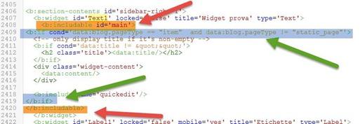 condizioni-and-blogger-widget