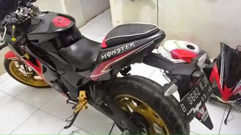 terbaru modifikasi honda verza full fairing