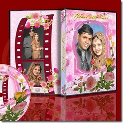 wedding dvd cover temlate 2