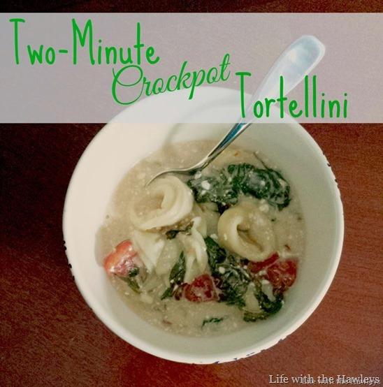 Two Minute Crockpot Trotellini