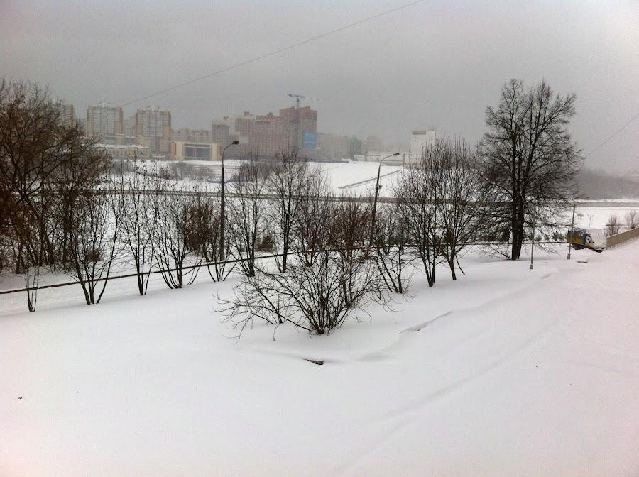 2015-11-21 Снегопад в Чебоксарах