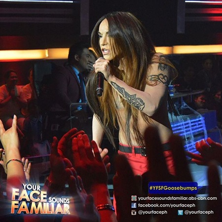 YFSF - Kean Cipriano as Anthony Kiedis of Red Hot Chili Peppers
