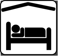 hotel-motel-sleeping-accomodation-clip-art-black-white-md