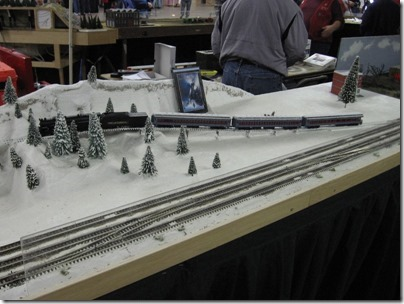 IMG_5895 Polar Express on the Beaverton Modular Railroad Club's HO-Scale Layout at the Great Train Expo in Portland, Oregon on February 14, 2009