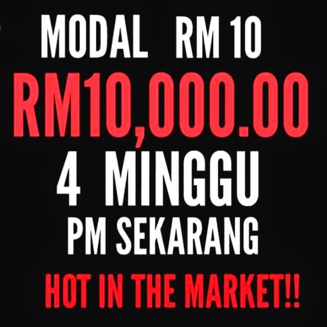 Dengan hanya bermodalkan RM10
