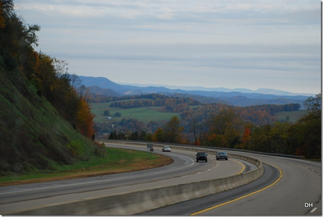Travel from Kingsport to Cumberland I26-US11W-US25E (107)