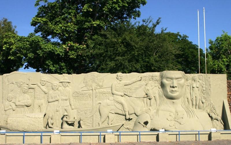 Monumento ao Pioneiros - Boa Vista, Roraima, fonte: Eu Amo Boa Vista