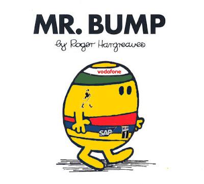 карикатура Льюис Хэмилтон Mr. Bump