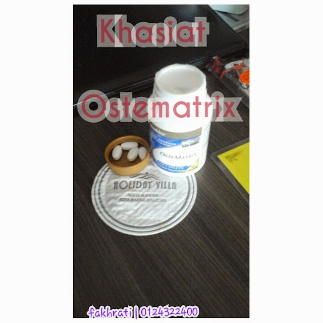 khasiat ostematrix shaklee