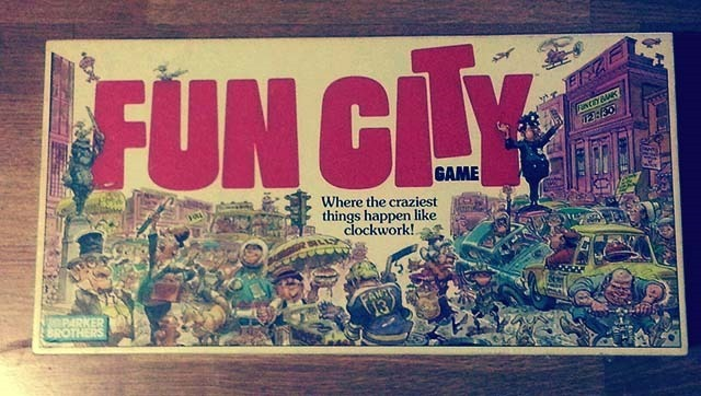 Fun City Board Game