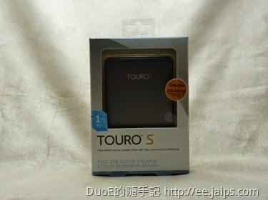 HGST Touro S 1TB USB3.0 2.5吋行動硬碟(簡約灰)