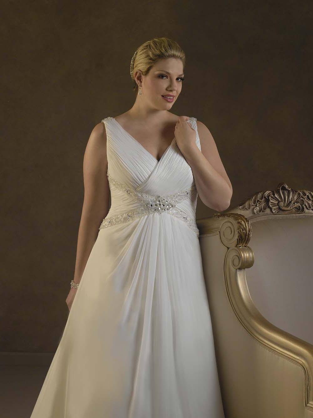 Mikayla 39 s blog champagne and beige wedding for Plus size beige wedding dresses