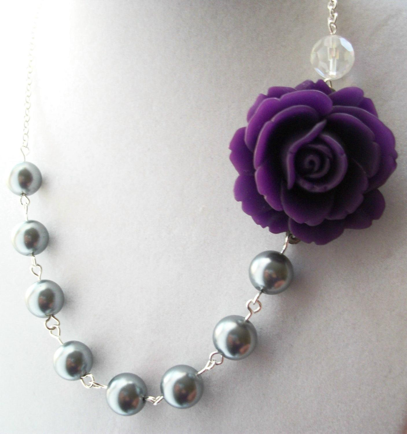 SALE - Amethyst Purple Rose