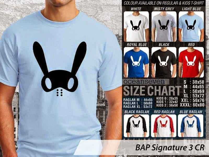 KAOS BAP Signature 15 K Pop Korea distro ocean seven