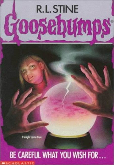 Goosebumps be careful what you wish for TV