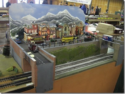 IMG_5913 London Module on the NMRA PNR 4th Division O-Gauge Hi-Rail Modular Layout at the Great Train Expo in Portland, Oregon on February 14, 2009