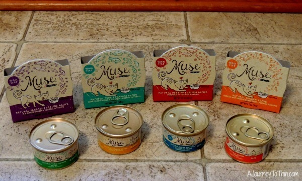 Purina® Muse Natural Food products exclusively available at PetSmart