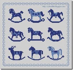 caballo balancin  punto de cruz  (5)