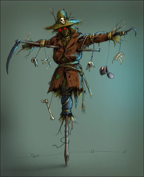 Adolf Lachman - Scarecrow