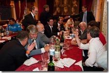 Poletti a cena con un Casamonica