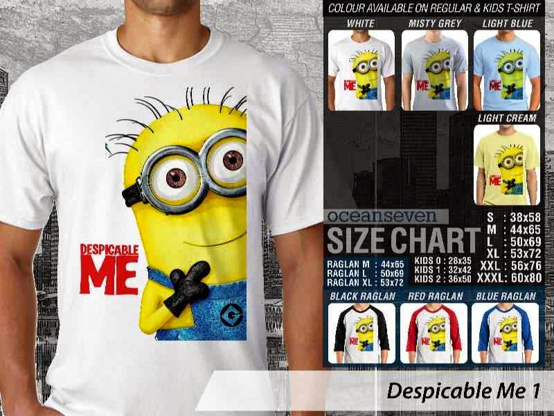 KAOS Despicable me 1 Movie Animation distro ocean seven