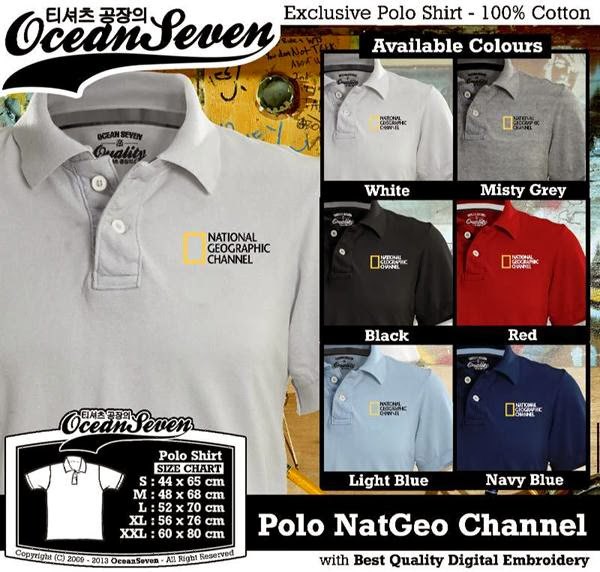 POLO National Geographic Natgeo Channel distro ocean seven