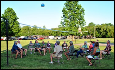 11l1- Hawaiian Luau - May 30 - Let the Games Begin - Beach Ball Chair Volleyball