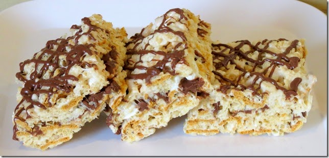 S'mores Rice Krispies Treats (2)