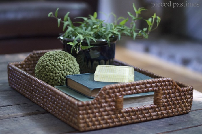 Pieced Pastimes Tray Styling 5