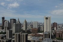 New York Skyline from Downtown Manhattan