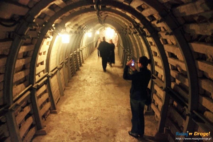 Sandomierz nad Wisłą - podziemna trasa turystyczna
