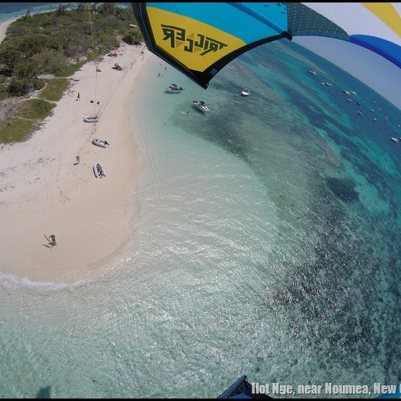 Kite Spot: Ilot Nge, Nouvelle Caledonie