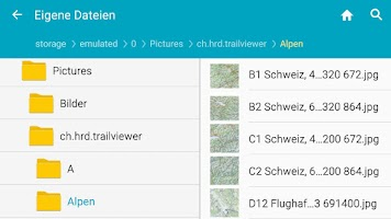 Screenshot of TrailViewer