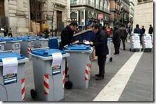 Raccolta differenziata Napoli