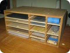 Sand Paper Storage